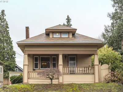 Portland Single Family Home For Sale: 3139 NE 57th Ave