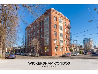 Condo/Townhouse For Sale: 410 NW 18th Ave #102