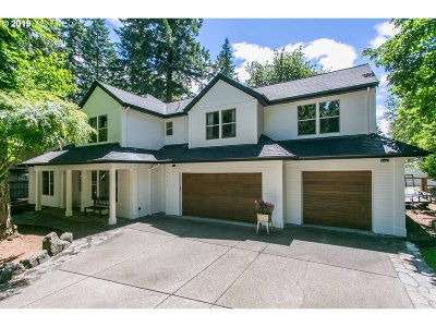 Lake Oswego Single Family Home For Sale: 3540 Red Cedar Way
