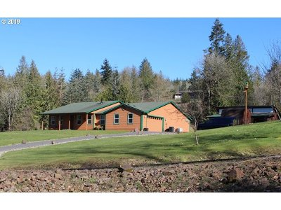 Cowlitz County Single Family Home For Sale: 208 Isaacson Dr