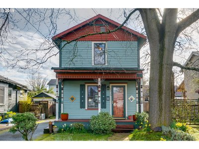 Single Family Home For Sale: 4936 SE 76th Ave