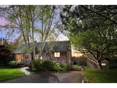 Portland Single Family Home For Sale: 3495 NW South Rd