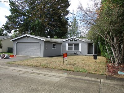 Canby OR Single Family Home For Sale: $98,500
