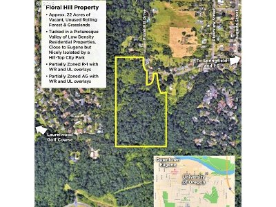 Lane County Residential Lots & Land For Sale: Floral Hill