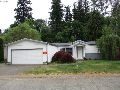 Canby Single Family Home For Sale: 1655 S Elm St #330