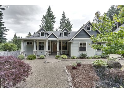 Milwaukie Single Family Home For Sale: 15350 SE Minerva Rd