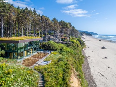 Cannon Beach Single Family Home For Sale: 80644 Hwy 101