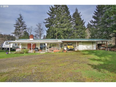 Coos Bay Single Family Home For Sale: 94417 Scoville Ln