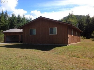 Langlois Single Family Home For Sale: 48191 Hwy 101
