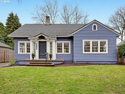 Portland Single Family Home For Sale: 3407 NE 16th Ave