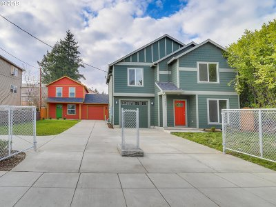 Single Family Home For Sale: 3223 SE 122nd Ave