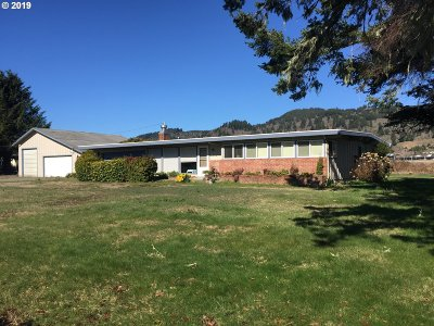 Brookings Single Family Home For Sale: 15475 Oceanview Dr