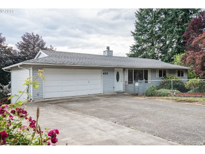 Estacada Single Family Home For Sale: 453 NE Shafford St