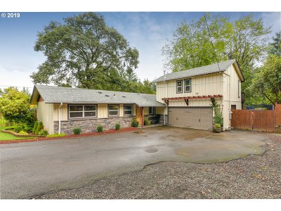 Lake Oswego, West Linn Single Family Home For Sale: 1486 Marylhurst Dr