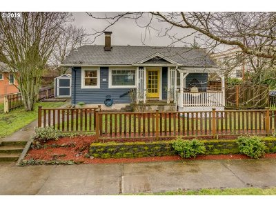Single Family Home For Sale: 3106 NE 72nd Ave