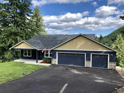 Cowlitz County Single Family Home For Sale: 423 Agate Creek Dr