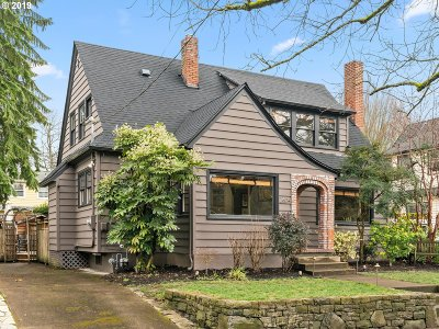 Portland Single Family Home For Sale: 2604 NE 36th Ave