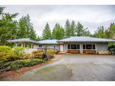 North Bend Single Family Home For Sale: 66516 Waymire Rd