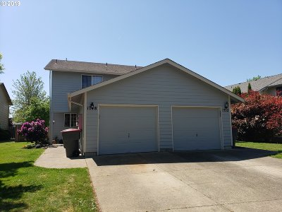 Yamhill County Multi Family Home Pending: 1748 SW Fellows St