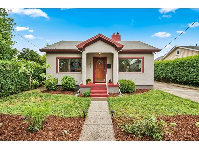 Portland Single Family Home For Sale: 7216 N Vincent Ave