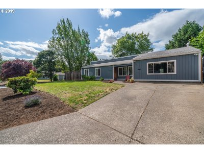 Beaverton, Aloha Single Family Home For Sale: 18055 SW Jay St