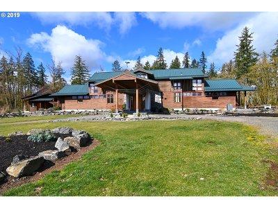 Single Family Home For Sale: 31530 Coburg Bottom Loop Rd