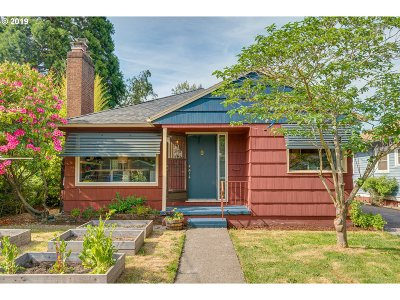 Portland Single Family Home For Sale: 3635 N Baldwin St