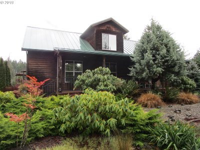 North Bend Single Family Home For Sale: 69265 Sandpoint Rd