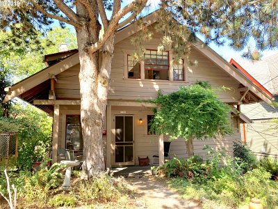 Portland Single Family Home For Sale: 3101 NW Vaughn St