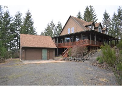 Vernonia Single Family Home For Sale: 55030 Siedleman Rd