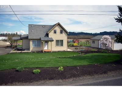 Forest Grove Single Family Home For Sale: 3536 SW Anderson Rd