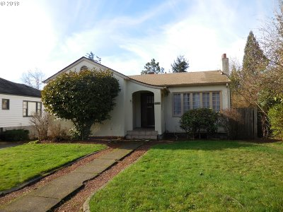 Eugene Single Family Home For Sale: 1638 Orchard St