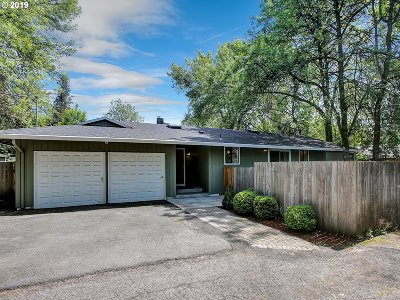 Portland Single Family Home For Sale: 3316 SW Hume St