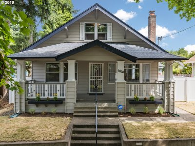 Single Family Home For Sale: 5826 NE 32nd Pl