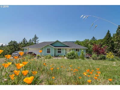 Roseburg Single Family Home For Sale: 235 Marys View Ln