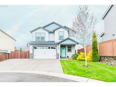 Ridgefield Single Family Home For Sale: 607 N Helens View Dr