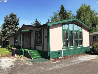Multnomah County, Clackamas County, Washington County, Yamhill County, Marion County Single Family Home For Sale: 2980 NE Division St #M-1