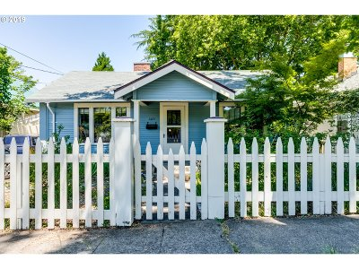 Eugene Single Family Home For Sale: 1457 E 24th Ave