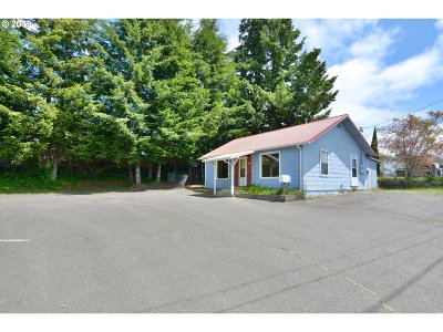 Coquille Single Family Home For Sale: 1185 W Central