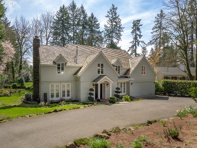 Lake Oswego Single Family Home For Sale: 163 Iron Mountain Blvd