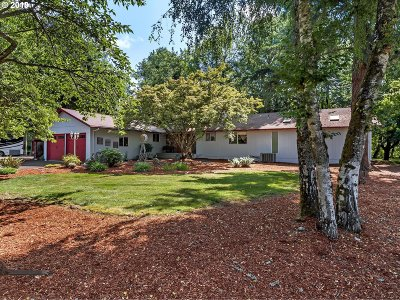 Clackamas County Single Family Home For Sale: 15431 S Union Mills Rd