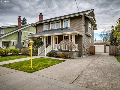 Portland Single Family Home For Sale: 3216 NE 45th Ave