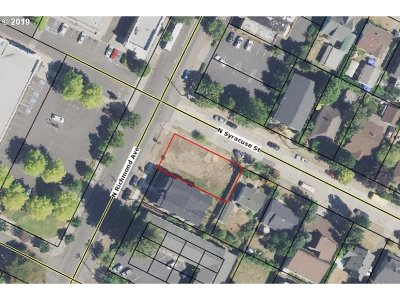 Portland Residential Lots & Land For Sale: 7134 N Richmond Ave