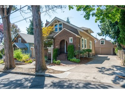 Multnomah County Single Family Home For Sale: 4225 NE 14th Ave