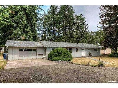 Turner Single Family Home For Sale: 12344 Brick Rd