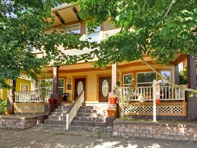 Portland Single Family Home For Sale: 315 NE Beech St