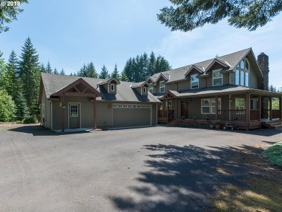 Multnomah County Single Family Home For Sale: 41720 SE Trout Creek Rd