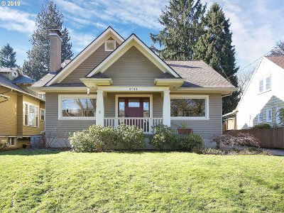 Portland Single Family Home For Sale: 3133 NE 9th Ave
