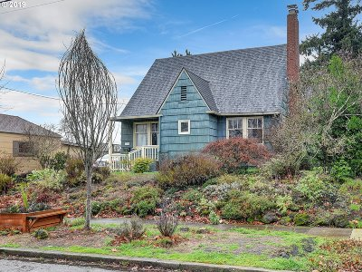 Portland Single Family Home For Sale: 6416 N Montana Ave