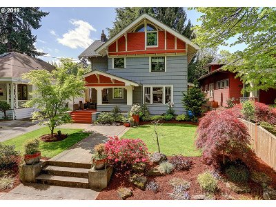 Portland Single Family Home For Sale: 2601 NE 17th Ave